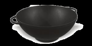 СИТОН Кастрюля (казан) чугунная ВОК 3,5 л с крышкой-сковородой