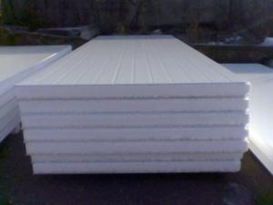 Термобуд Сэндвич-панели  с наполнителем пенополистирол 50мм.