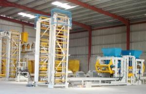 SCANDINAVIAN & UK MACHINES AB Стационарная блок-линия (вибропресс) Sumab R-500 автомат