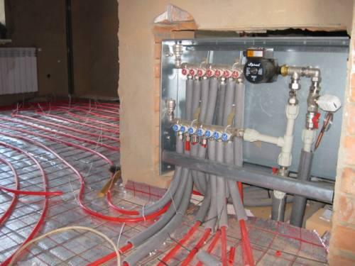 Vgradnja toplotno izolirane talne površine