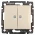 Lagrand Valena 774328 Выключатель 2х клавишный с подсветкой