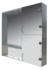 UMT (Украинские Зеркальные Технологии) Шкаф зеркальный  12 ШП 800*800*135 мм