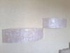 Нанесение декоративных штукатрок Полки кроко