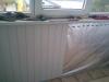 Ремонт балкона. Юбка