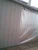 Ремонт балкона. Паробарьер фальгированный