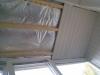 Ремонт балкона. Потолок