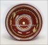 Тарелки керамические украинского производства. Тарелка дачная расписная.