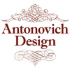 """Логотип Студия элитного дизайна """"Antonovich Design"""""""