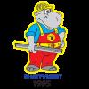 Логотип Бегемот+
