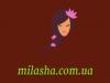 """Лого Интернет-магазин """"Милаша"""" milasha.com.ua"""