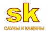 Логотип Сауны и Камины СК