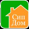 """Логотип Строительно-производственная фирма """"Сип Дом"""""""