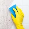 Как очистить поверхность керамической плитки от клея.