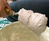 Клей для керамической плитки.