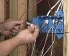 Ремонт электрической проводки.
