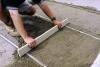 Цементно-песчаная стяжка. Устройство стяжки пола.
