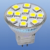 brille LED MR11 GU4 12V 12pcs WW 5050 SMD