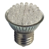PAR16 2W/230V E27 LED WHITE WARM Br