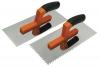 Favorit Гладилка стальная с нержав.покрытием, пластм. ручка, 120 х 280мм 08-043