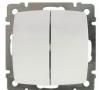 Legrand Выключатель двухклавишный Suno 774005