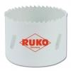 ruko Сверло корончатое биметаллическое HSS Co 8 c мелкими зубьями 126060