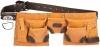 KRAFTOOL Пояс  для инструментов, натуральная кожа, 9 карманов