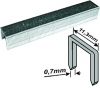Скобы для степлера  узкие прямоугольные 1000 шт., 8 мм