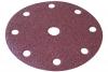 Spitce Круг абразивный 150мм (липучка), 9 отверстий, d=10мм, 5шт.18-488