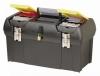 Stanley Ящик для инструмента серии 2000 пластмассовый с 2-мя встроенными органайзерами, лотком и металлическими замками 24