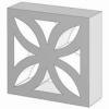 Стоун Тэк Декоративный блок «Цветок»