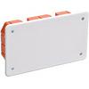 ИЭК Коробка распаячная КМ41006, для тв.стен, 172x96x45 мм