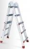 INTERTOOL Лестница универсальная раскладная телескопическая Intertool 2х2х4 ступени (LT-2044)