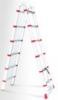 INTERTOOL Лестница телескопическая раскладная универсальная Intertool 12 ступеней (LT-3039)