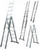 KRAUSE Лестница трехсекционная KRAUSE Corda 3x6 ступеней (010360)
