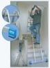 KRAUSE Лестница шарнирная телескопическая KRAUSE CombiMatic 2x3 + 2x6 ступеней (121363)