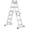 Forte Лестница четырехсекционная шарнирная FORTE 4x4 ступени (FE4x4)