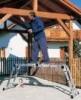 ZARGES Лестница многофункциональная шарнирная ZARGES 4x5 ступеней (242385)