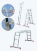 KRAUSE Лестница-стремянка шарнирная KRAUSE MultiMatic 4x3 ступени (120632)