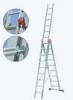 KRAUSE Лестница трехсекционная KRAUSE Tribilo 3x8 ступеней (121301)