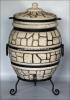 Тандыр  из шамотной глины  №4-С (стандарт) с откидной крышкой