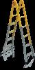 Elkop Лестница многофункциональная четырехсекционная металлическая Elkop B 44 FS