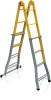 Elkop Лестница многофункциональная четырехсекционная металлическая Elkop B 45 FS