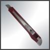 Китай Нож  9мм, сегментированное лезвие, фиксатор, пластиковый корпус