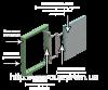 VS Group Люк невидимка под плитку ( сдвижной ) ЕМ-1 400х400 мм