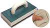 Терка пластиковая с  с губкой для мытья поверхности после работ с плиткой (артикул 3071) 130х270 мм