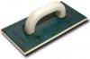 Терка пластиковая с войлочной подкладкой  для шлифования  штукатурки (артикул 3078) 130х270 мм / 5 мм