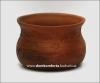 Миска  глиняная глубокая (литье, декор)