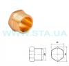 STA.ua Заглушки (пробки латунные) 20мм с наружной резьбой