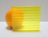 Carboglass Поликарбонат сотовый жёлтый