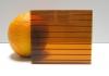 Carboglass Поликарбонат сотовый коричневый
